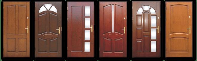 Zdjęcia drzwi zewnętrznych
